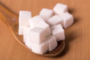 フルーツサンド 砂糖