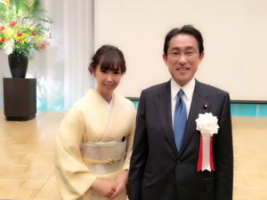 岸田文雄 裕子夫人